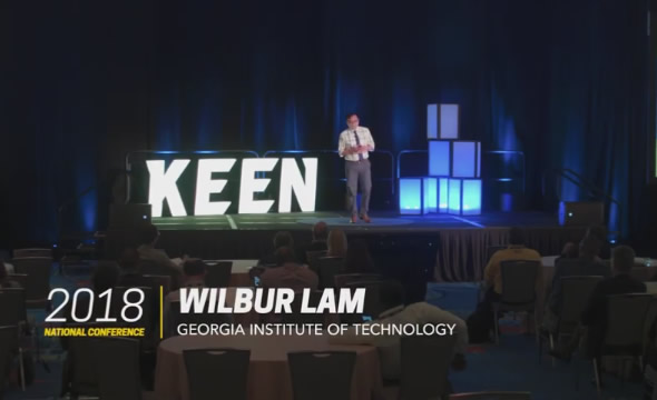 KEEN Talk   Wilbur Lam: Reimagining STEM education for chronically ill children