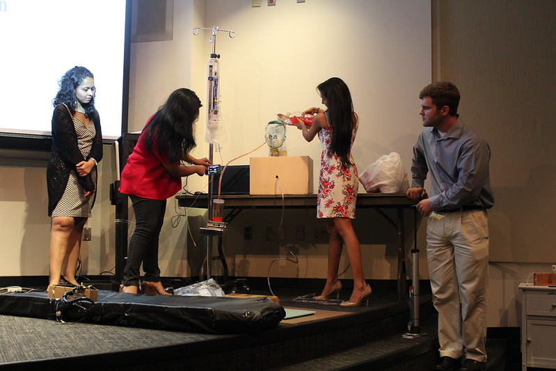 Graduation Presentation of Prototype to Faculty, MDs, and other Clinicians