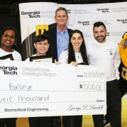 Device that Reduces Risk of Aspiration Wins Biomedical Engineering Category at Capstone Design Expo