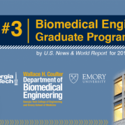 Biomedical Engineering Ranked No. 3 in U.S. News Graduate Rankings