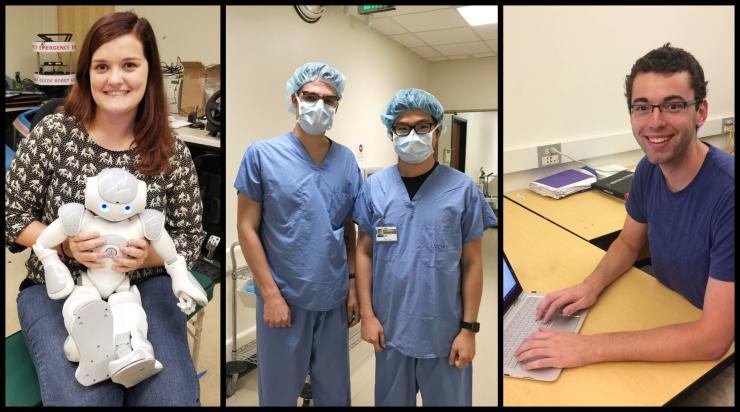 Healthcare Robotics Traineeship Broadens Students' Academic Experiences and Community