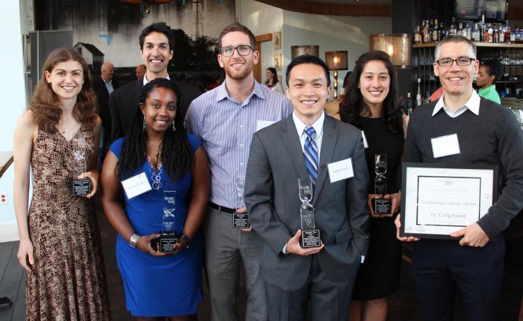 BME Graduate Award Winners 2016-2017