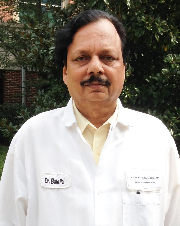 Balakrishna Pai Named One of Georgia Tech's Top Teachers