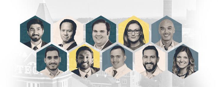 Alumni Association's 40 Under 40 honors 10 BME alumni