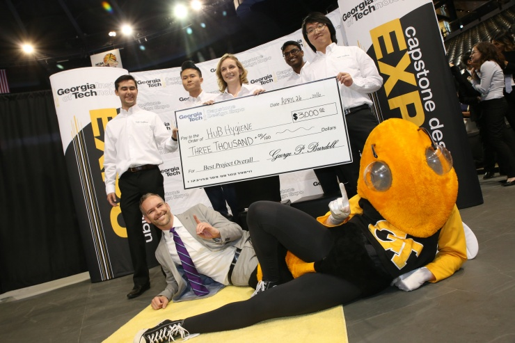 Health Innovation Shines Again at Spring Capstone Design Expo