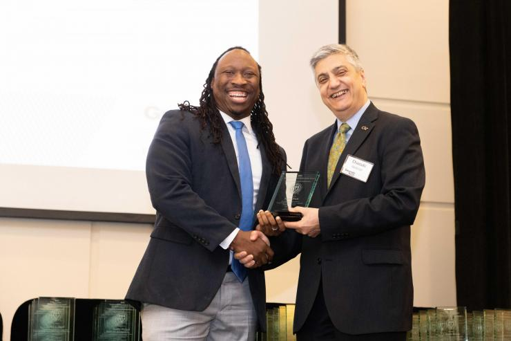 Six BME Faculty Honored at Georgia Tech's Annual Faculty and Staff Awards Event