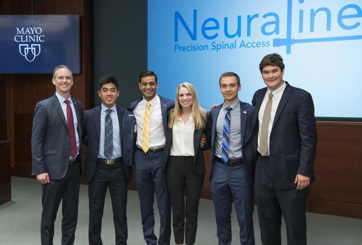 Mayo Clinic Taps Tech Capstone Team