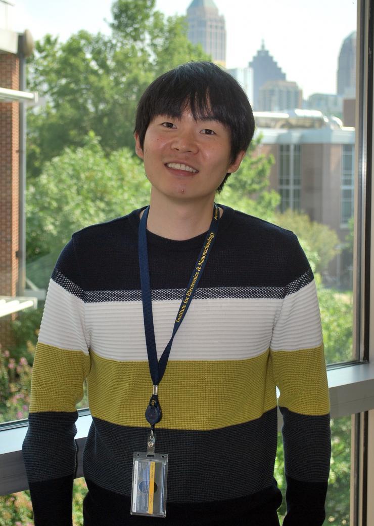 Kihan Park Wins Research Award