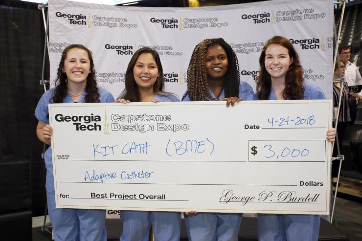 BME Team Takes Home Top Capstone Prize