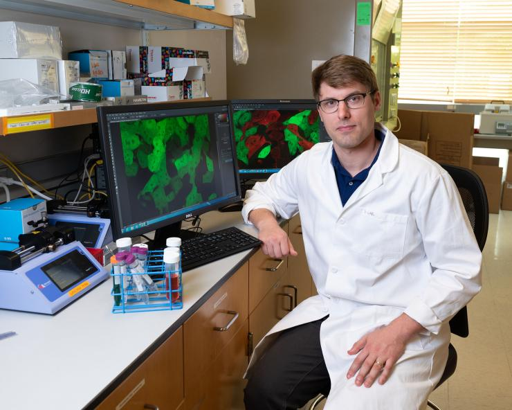 James Dahlman Wins Gene Delivery and Gene Editing Focus Group Young Investigator Award