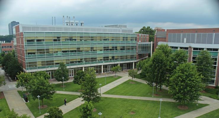 The U.A. Whitaker Building houses the Walter H. Coulter Department of Biomedical Engineering.