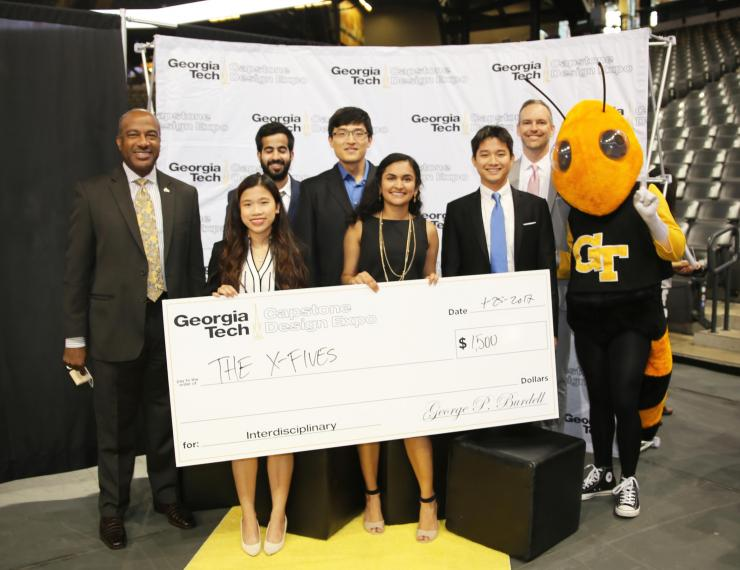 BME Students Win Two Award Categories at Capstone Design Expo