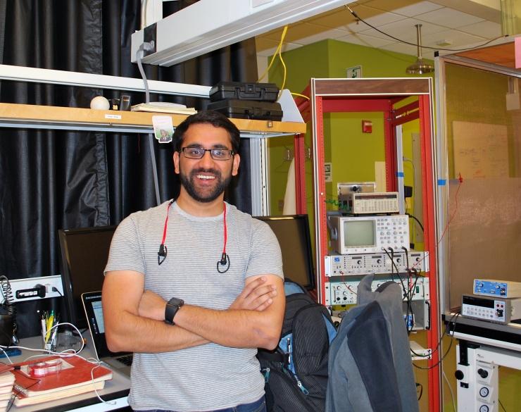 Patel Wins Young Investigator Award