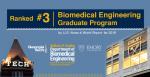 Biomedical Engineering Ranked No. 3 in U.S. News Graduate Rankings